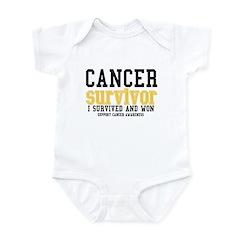 Cancer Survivor Infant Bodysuit