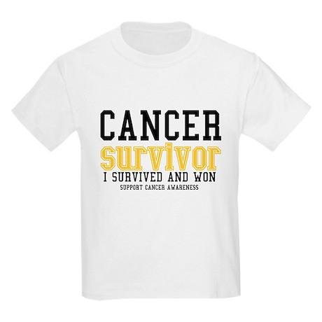 Cancer Survivor Kids Light T-Shirt