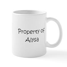 Funny Alysa Mug