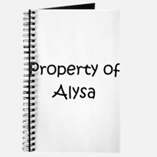 Cool Alysa Journal