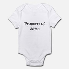 Unique Alysa Onesie