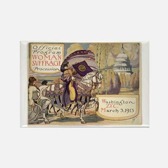 Suffrage for Women Rectangle Magnet