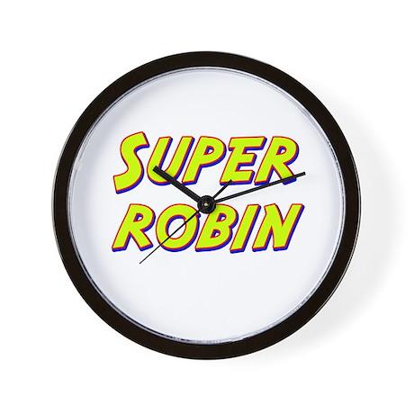 Super robin Wall Clock