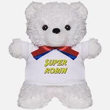 Super robin Teddy Bear