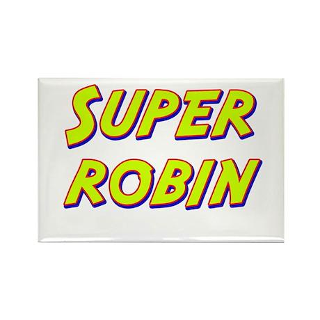 Super robin Rectangle Magnet (10 pack)