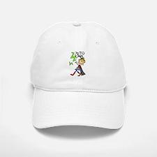 ZAP Girl Hero Baseball Baseball Cap