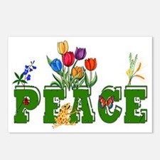 Peace Garden Postcards (Package of 8)