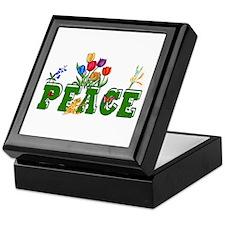 Peace Garden Keepsake Box