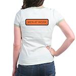Men at Work (Back) Jr. Ringer T-Shirt