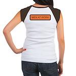 Men at Work (Back) Women's Cap Sleeve T-Shirt