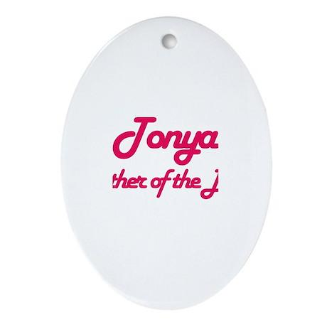 Tonya - Mother of Bride Oval Ornament