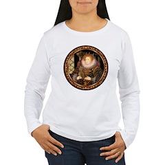 Queen / Dachshund #1 Women's Long Sleeve T-Shirt