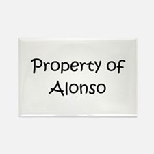 Cute Alonso Rectangle Magnet