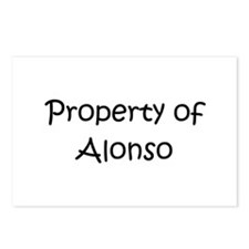Funny Alonso Postcards (Package of 8)