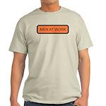 Men At Work Sign 1 Ash Grey T-Shirt