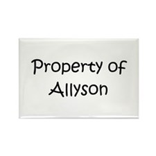 Cool Allyson Rectangle Magnet