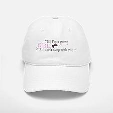 Gamer-Girl Yes/No Baseball Baseball Baseball Cap