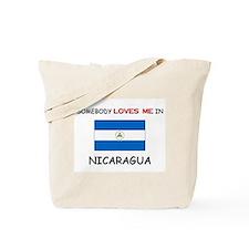 Somebody Loves Me In NICARAGUA Tote Bag