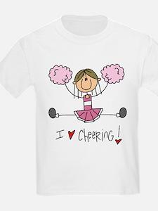 Pink Love Cheering T-Shirt