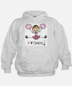 Pink Love Cheering Hoody
