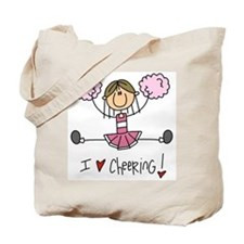 Pink Love Cheering Tote Bag