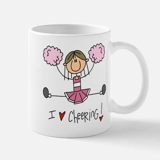 Pink Love Cheering Mug