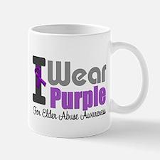 I Wear Purple (Elder Abuse) Mug
