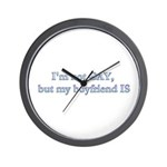 I'm not GAY Wall Clock