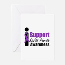 Elder Abuse Support Greeting Cards (Pk of 10)