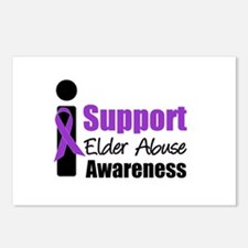 Elder Abuse Support Postcards (Package of 8)