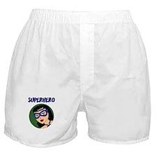 Retro Superhero Susie Boxer Shorts