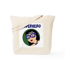 Retro Superhero Susie Tote Bag