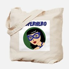 Retro Superhero Susie Tote Bag