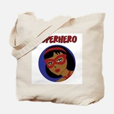 Retro Superhero Julie Tote Bag