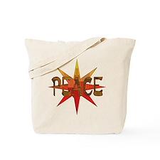 Peace Flowering Tote Bag