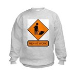 Men at Work 2 Kids Sweatshirt