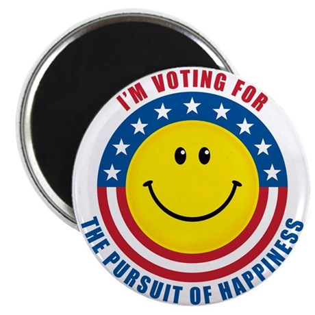 """Pursuit of Happiness 2.25"""" Magnet (10 pack)"""
