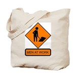 Men at Work Sign 2 - Tote Bag