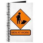 Men at Work Sign 2 - Journal