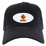 Men at Work Sign 2 - Black Cap