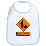 Men at Work Sign 2 - Bib