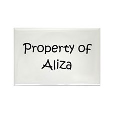 Funny Aliza Rectangle Magnet