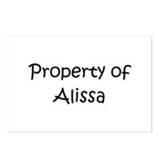Funny Alissa Postcards (Package of 8)