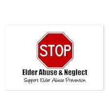 Elder Abuse is Wrong Postcards (Package of 8)
