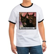 'Wild Dogs' T-Shirt With Backprint