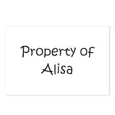 Unique Alisa Postcards (Package of 8)
