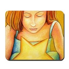 The Star Keeper's Wish Mousepad