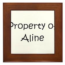 Unique Property Framed Tile