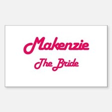 Makenzie - The Bride Rectangle Decal