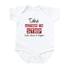 Elder Abuse Awareness Infant Bodysuit